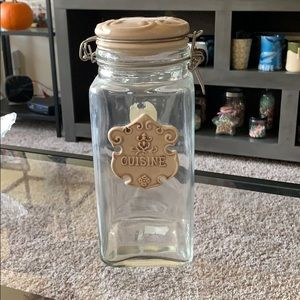 CUISINE airtight glass container